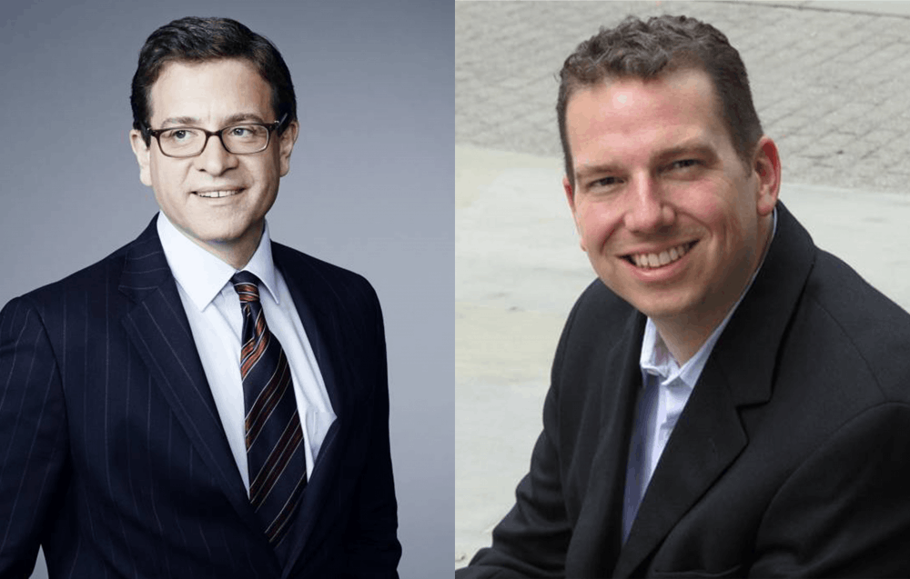 <p>Julian Zelizer and Kevin Kruse / Office of Communications</p>