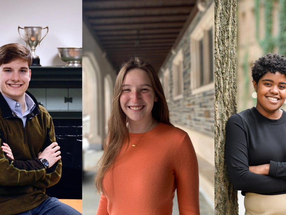 Jonathan Ort '21 (left), Emma Parish '21 (middle), and Morgan Smith '21 (right) Photos courtesy of Ort, Parish, and Smith