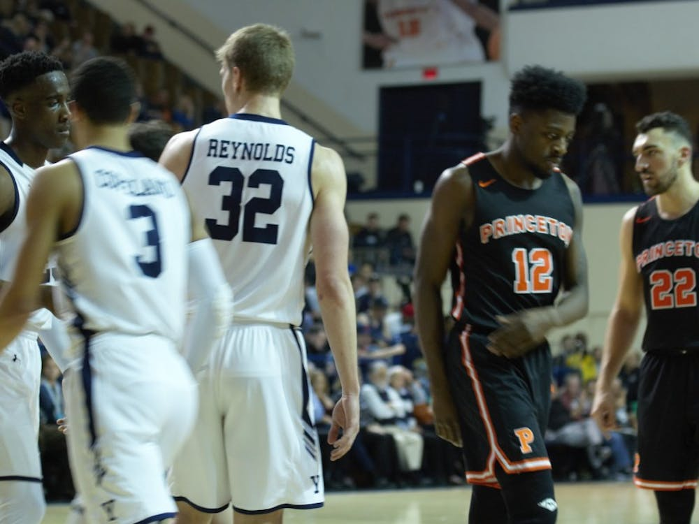 Myles Stephens and Princeton came up short against Yale Saturday