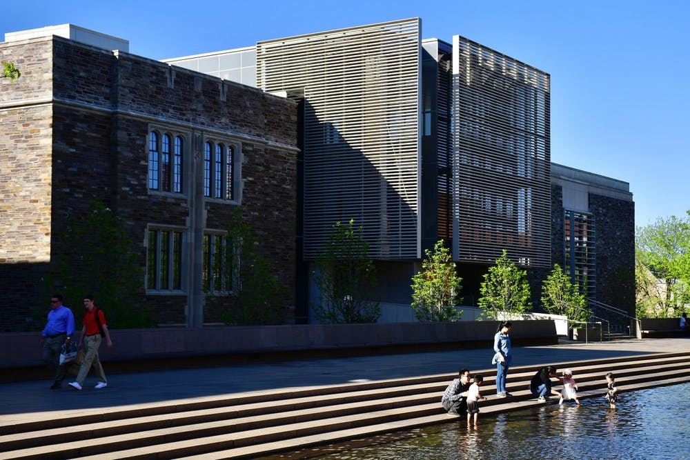 <p>The Louis A. Simpson Building houses the Davis International Center.</p> <h6>Jon Ort / The Daily Princetonian</h6>