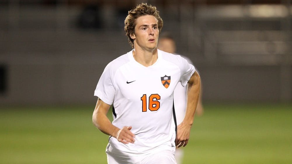 <p>Freshman Walker Gillespie, Ivy player and rookie of the week.</p> <p>Photo credit: GoPrincetonTigers.</p> <p><br></p>
