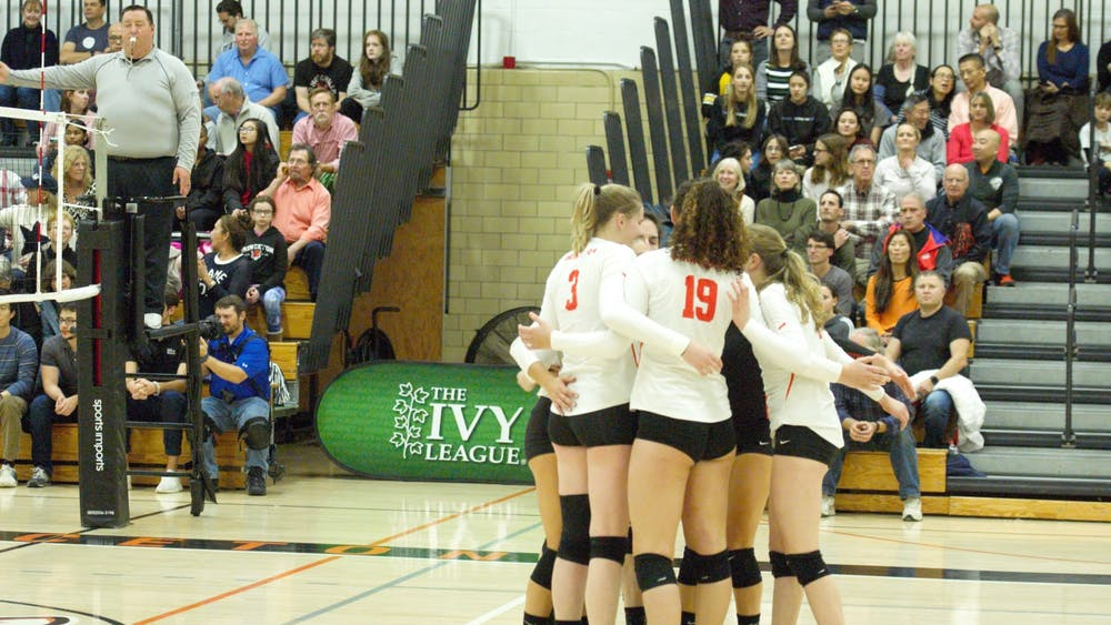 Princeton women's volleyball will face off with Penn State in the first round of the NCAA tournament on Friday. Photo Credit: Jack Graham / The Daily Princetonian