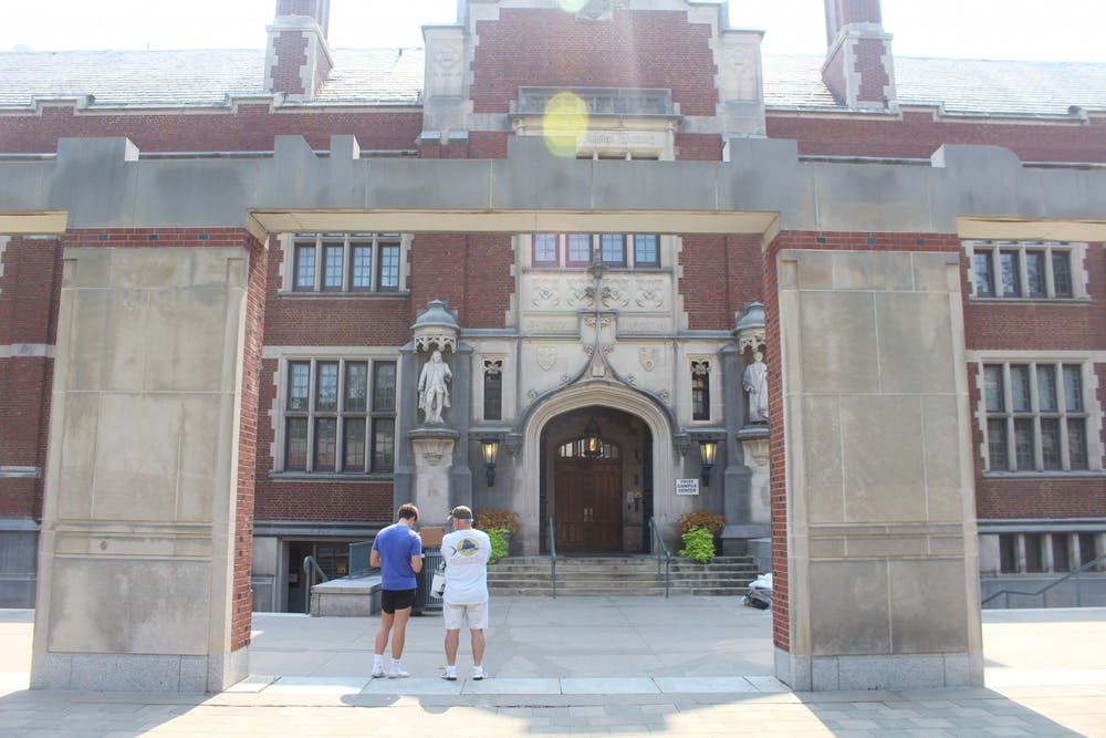 <h5>Frist Campus Center</h5> <h6>Abby de Riel / The Daily Princetonian</h6>