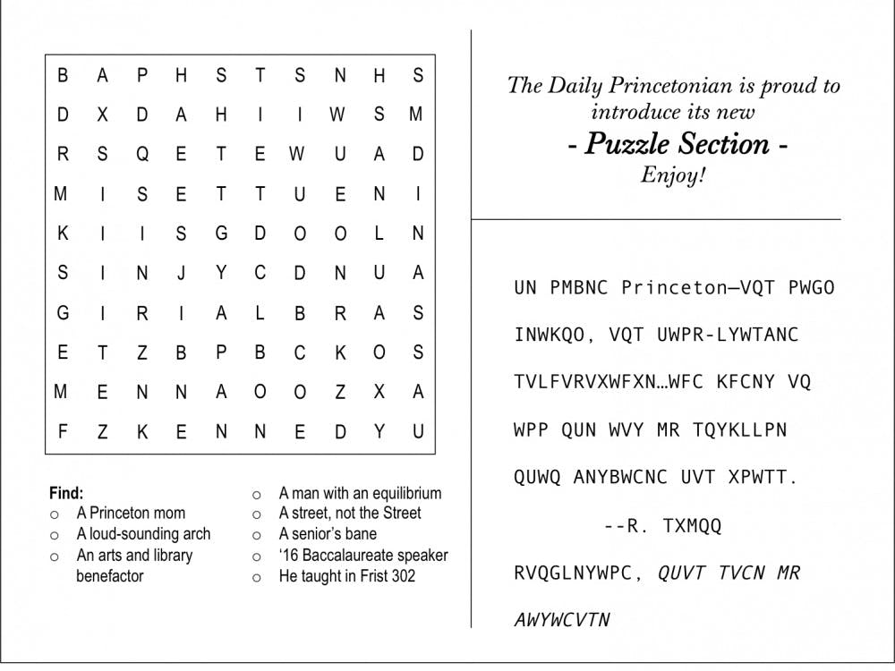 Puzzle Section