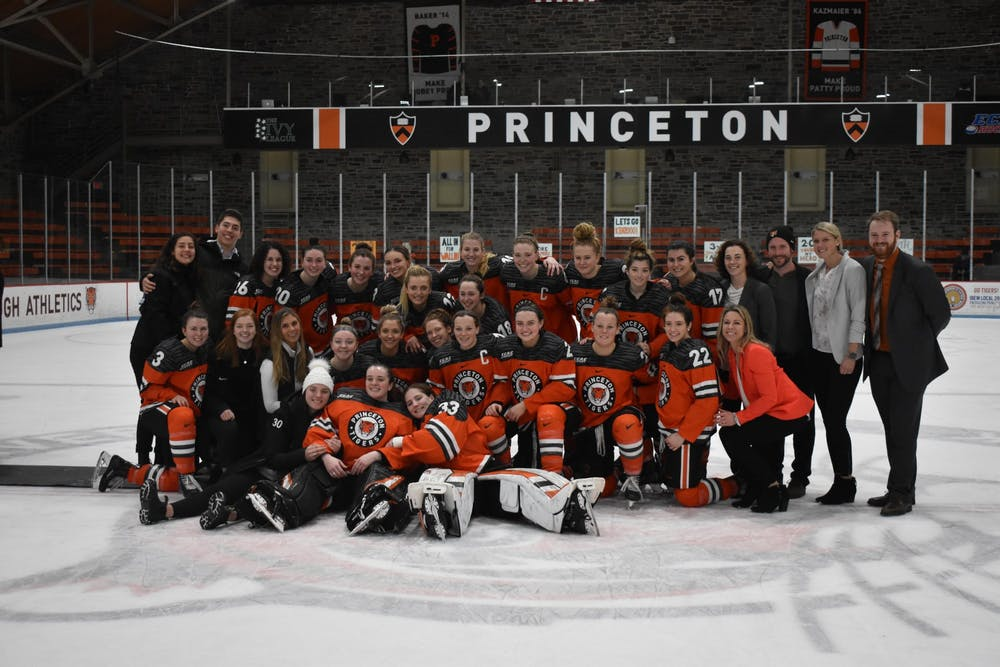 Women S Hockey Heads To Ithaca With A Chance To Make History The Princetonian