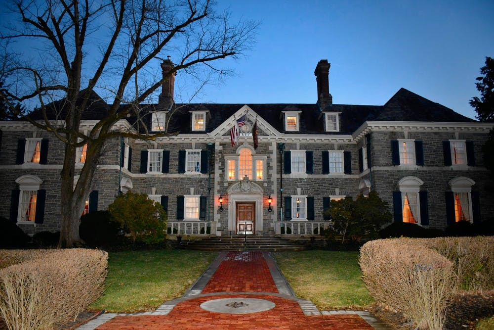<p>Charter Club.</p> <h6>Photo Credit: Jon Ort / The Daily Princetonian</h6>