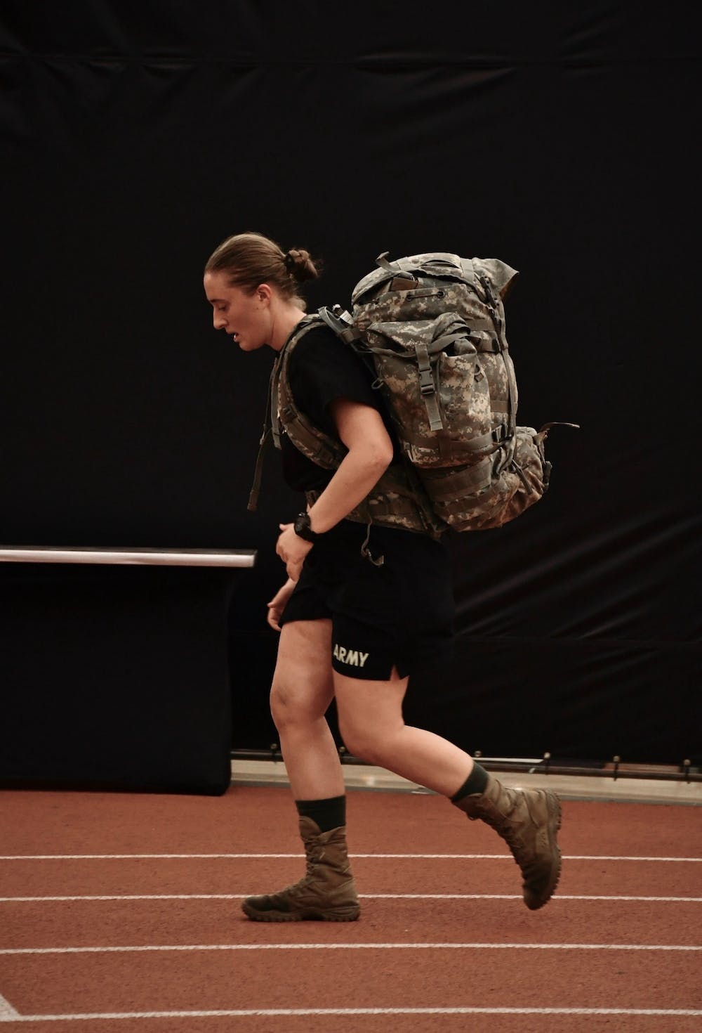 <p>Cadet Eliza Ewing '20.</p> <h6>Photo Credit: Jon Ort / The Daily Princetonian</h6>