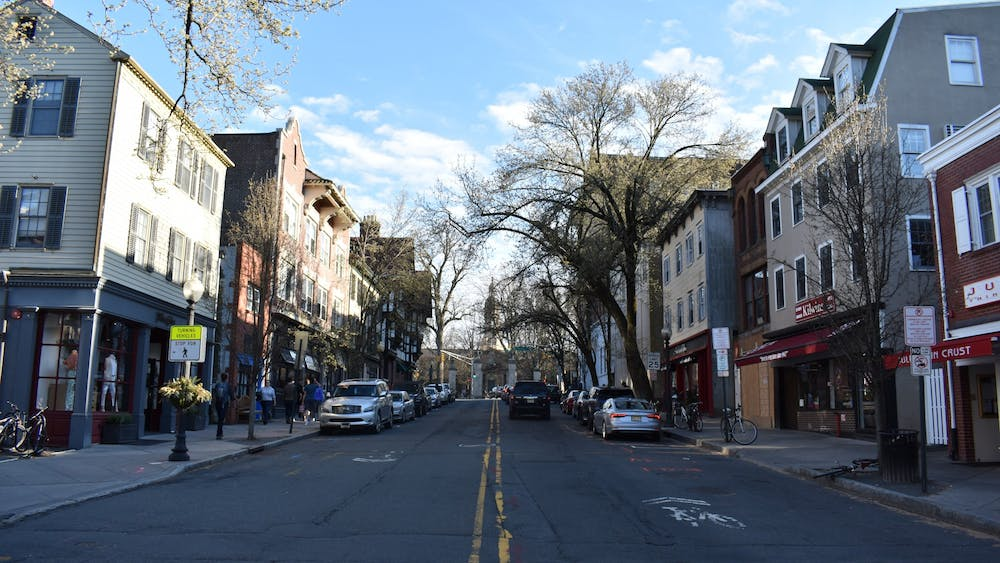 Witherspoon Street is the center of the Witherspoon-Jackson district, a historically Black neighborhood in Princeton. Mark Dodici / The Daily Princetonian