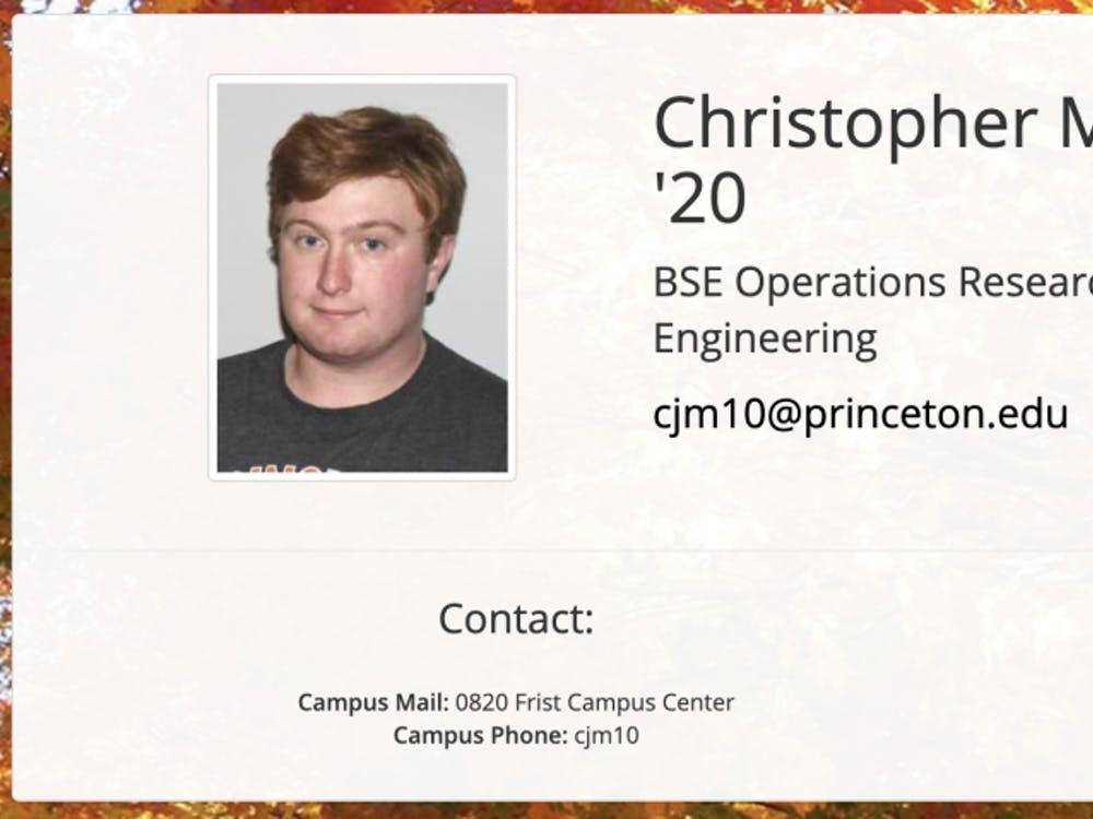 Tigerbook profile of Chris Murphy '20, the Editor-in-Chief of The Daily Princetonian. Photo Credit: Tigerbook
