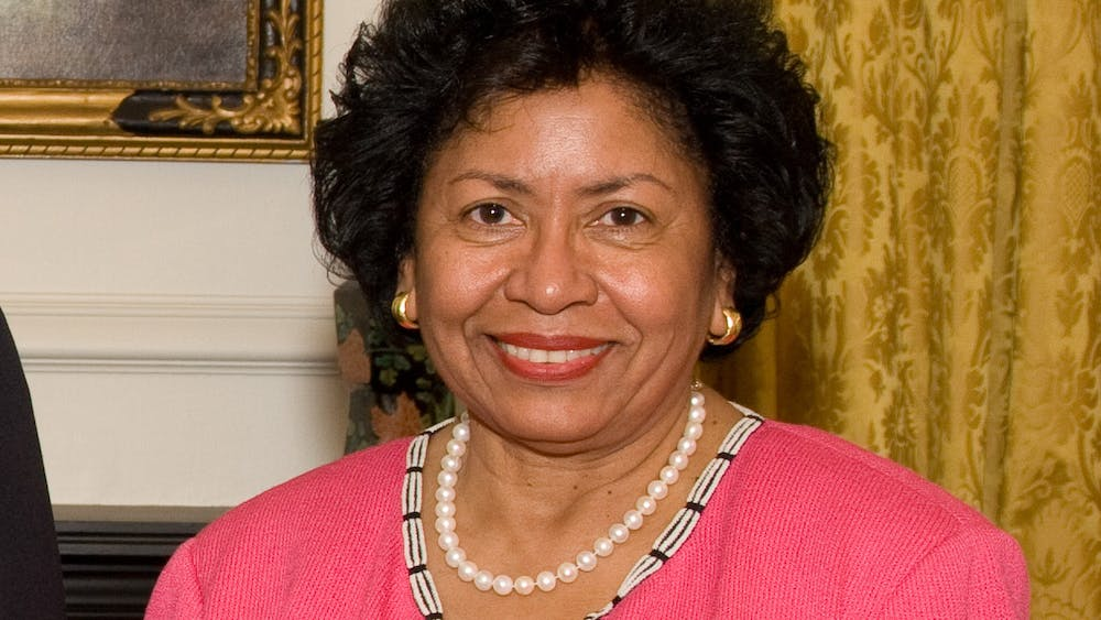 """Ruth J. Simmons, current president of Prairie View A&M University. """"Brown president Ruth J. Simmons"""" by Kenneth C. Zirkel / CC BY-SA"""