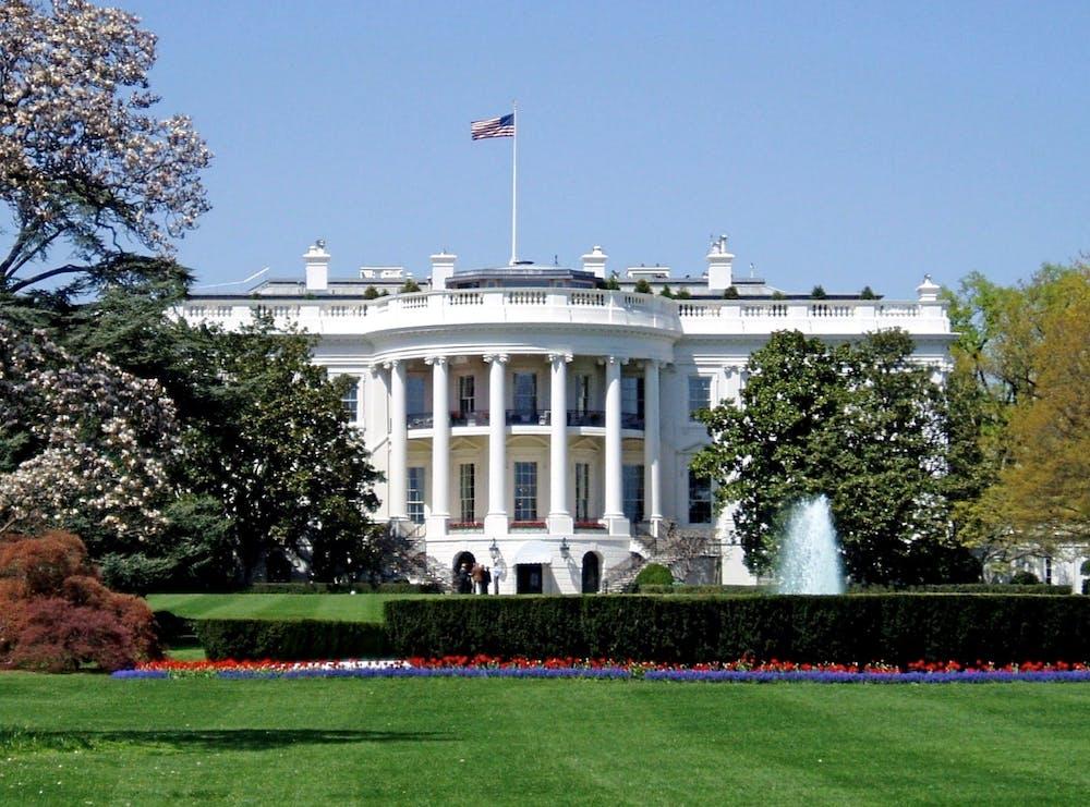 <h5>The White House in Washington, D.C.</h5> <h6>Matt Wade / Wikimedia Commons</h6>