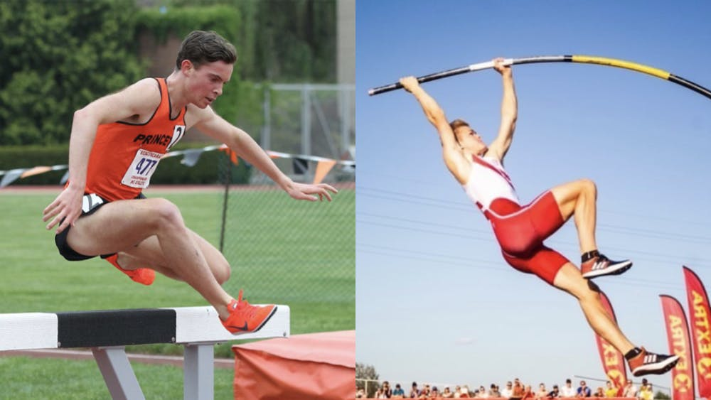 <h5>Ed Trippas '22 (left) and Sondre Guttormsen '23 (right) each competed in the Tokyo Olympics.</h5> <h6><strong>Courtesy of Beverly Schafer (left) / GoPrincetonTigers.com and Kristin Guttormsen (right)</strong></h6>