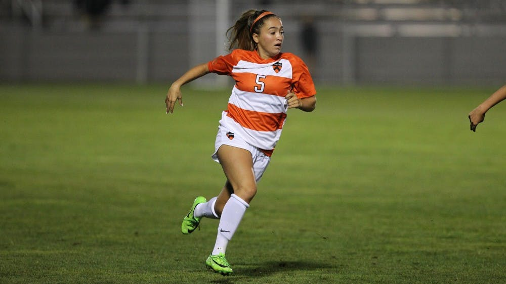 Amy Paternoster scored her first career goal in a 1-0 win against Columbia