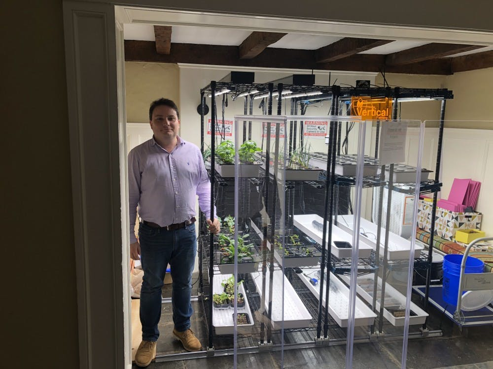 Strange-looking hydroponic farm in Forbes is fully