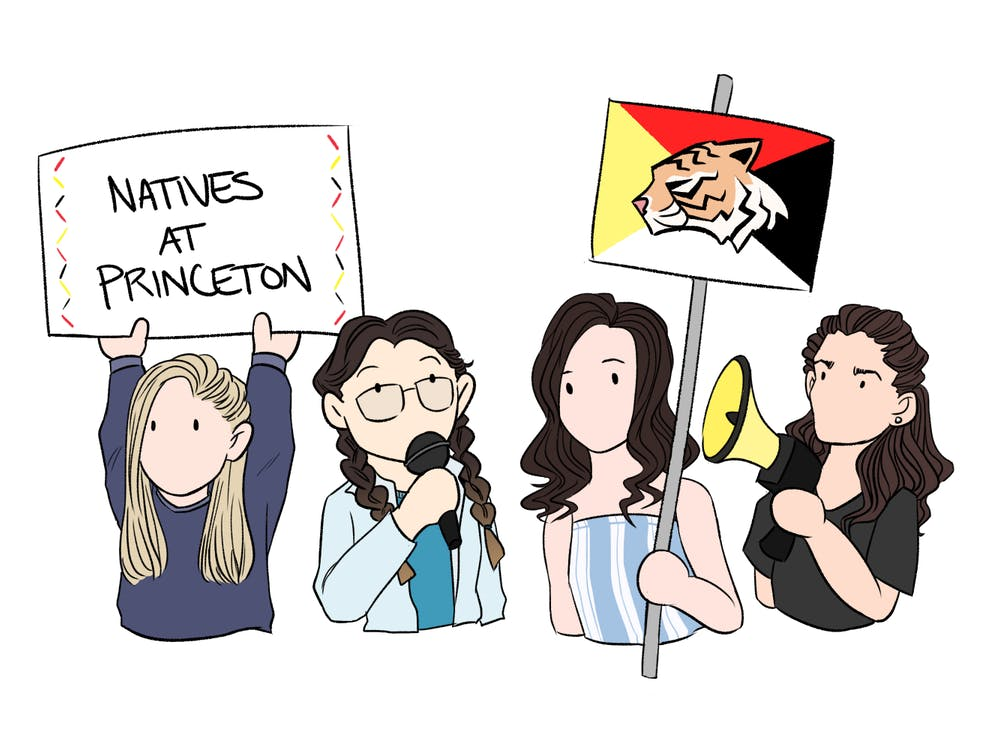 The four officers of Natives at Princeton. Sydney Peng / The Daily Princetonian