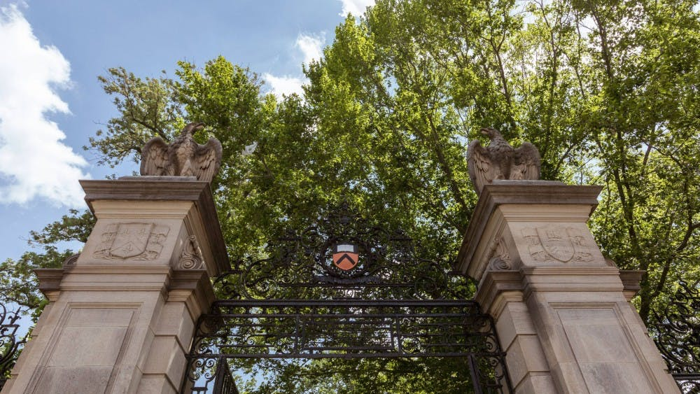 <p>FitzRandolph Gate. Courtesy of the Office of Communications.</p>