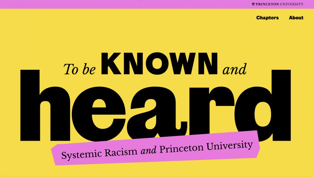 Screenshot of the To Known and Be Heard website.