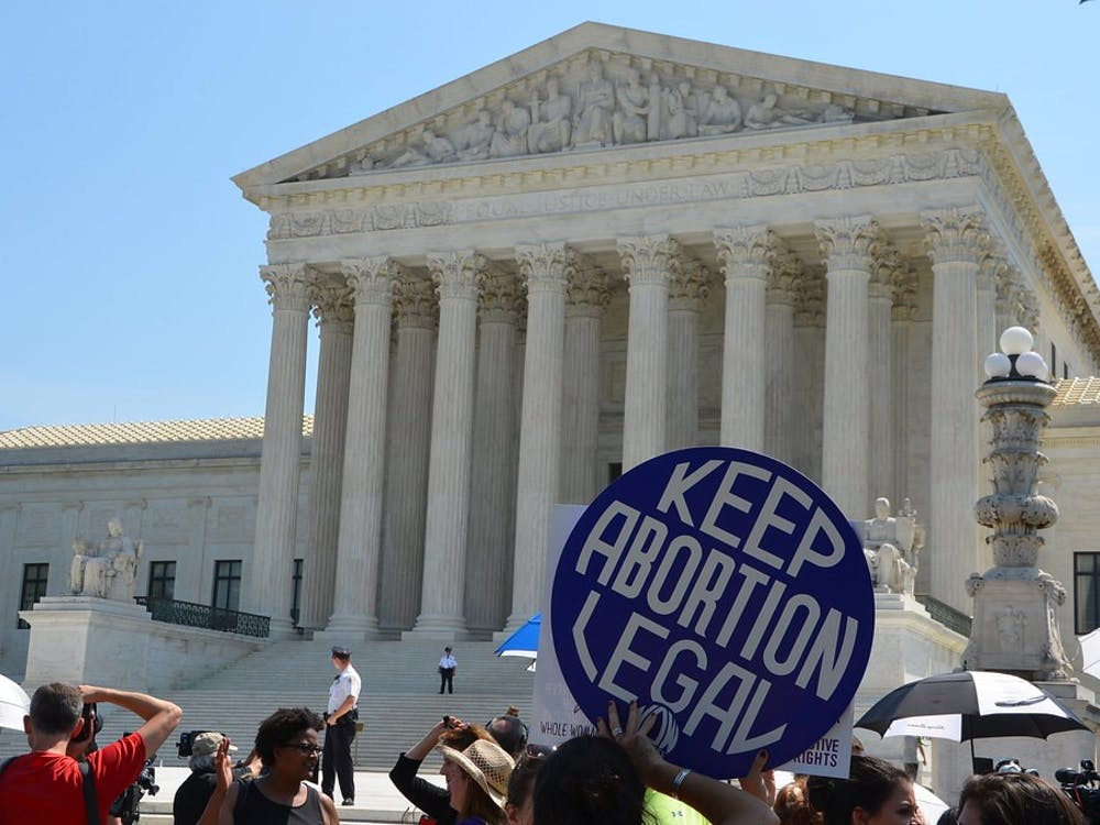 """Scene outside Supreme Court after decision on Texas abortion case """"Supreme Court keeps abortion legal"""" by Adam Fagen / CC BY 2.0"""