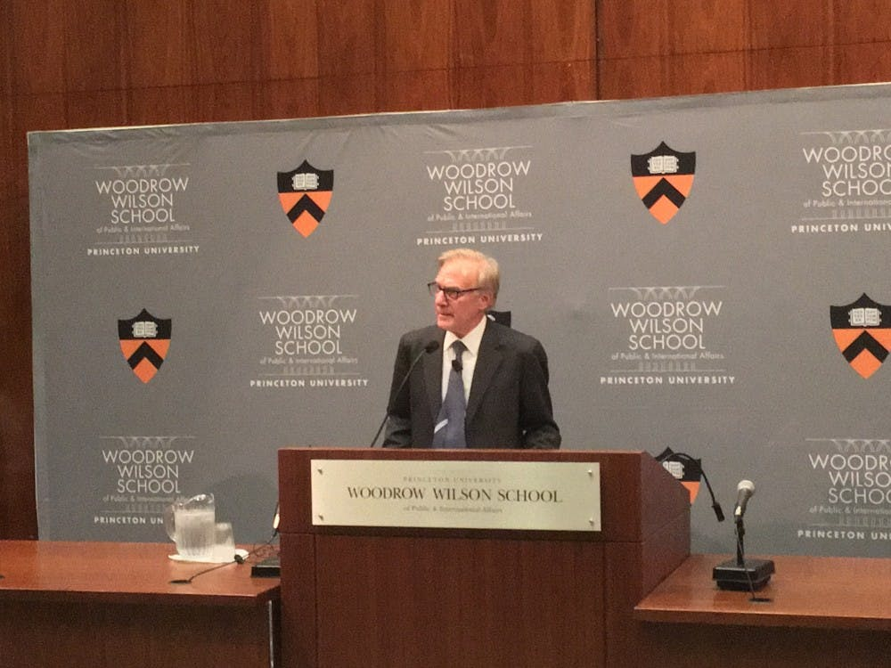 David Ignatius speaks on journalism abroad, foreign policy.