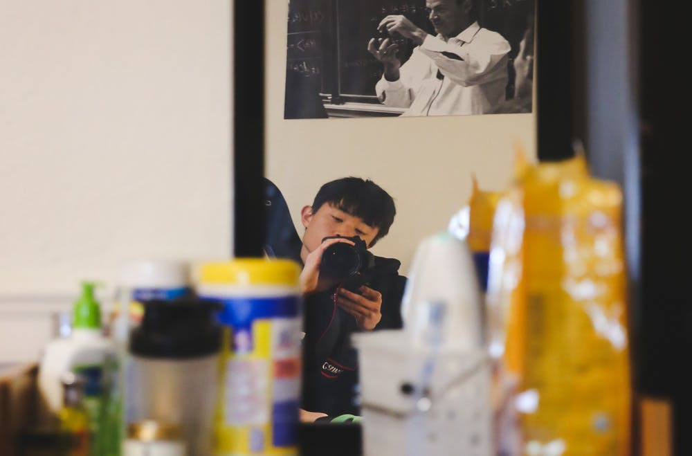 "<h6>As the anonymous @lonelycovidtiger, Jeongmin ""JM"" Cho '21 spent the last two months documenting on-campus life amid the pandemic.</h6> <h6>Photo by Jeongmin Cho '21</h6>"