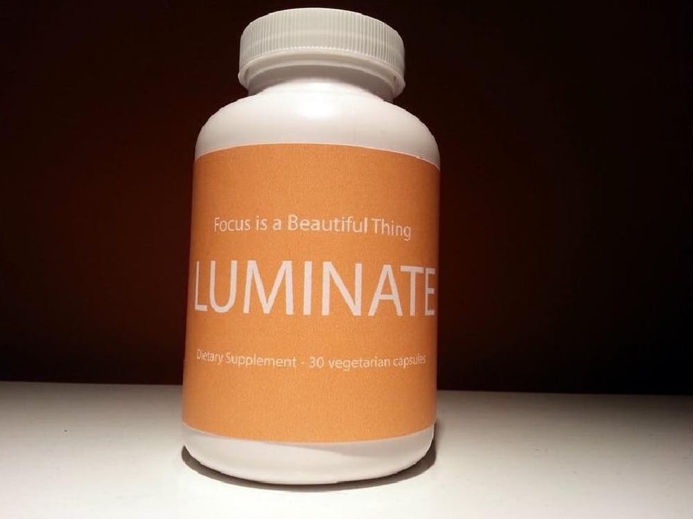 An early version of a Luminate bottle, submitted as part of the company's trademark application.