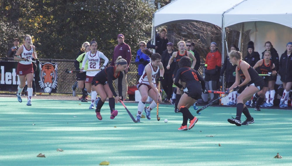 Princeton advanced to the NCAA Final 4 Sunday with a quarterfinal win over Harvard
