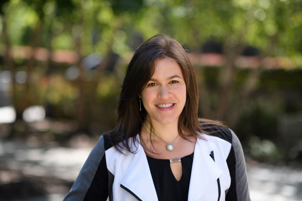 <p>Hilary Parker '01 will become vice president and secretary of the University, effective July 1, 2019. Courtesy of the Office of Communications</p>