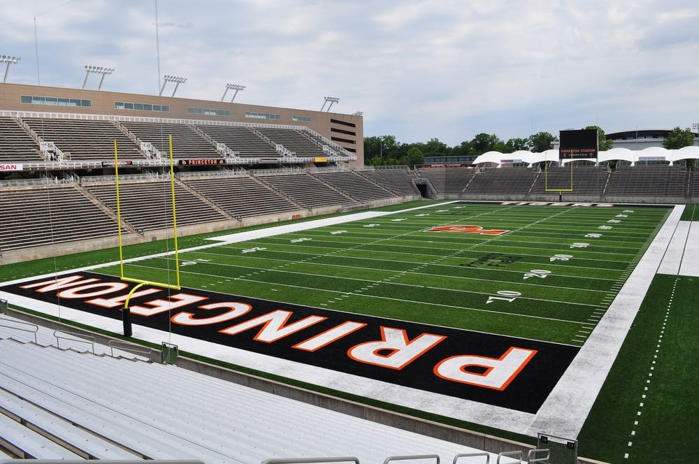 "<h5>A view of Powers Field at Princeton Stadium.&nbsp;</h5> <h6>Courtesy of <a href=""https://goprincetontigers.com/facilities/powers-field-at-princeton-stadium/2"" target=""_self"">GoPrincetonTigers</a></h6>"