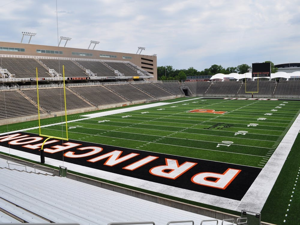 A view of Powers Field at Princeton Stadium.  Courtesy of GoPrincetonTigers