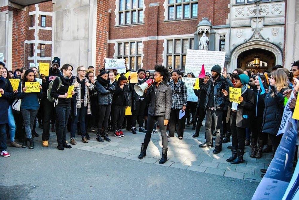 Alumni speak on the Black Justice League's fight against the University's racist legacies