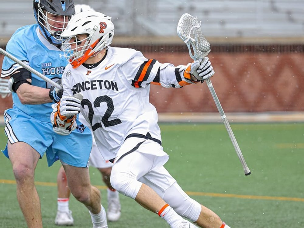 Senior Michael Sowers will drive the Tigers' effort against the Scarlet Knights. Photo credit: Shelley M. Szwast, GoPrincetonTigers.
