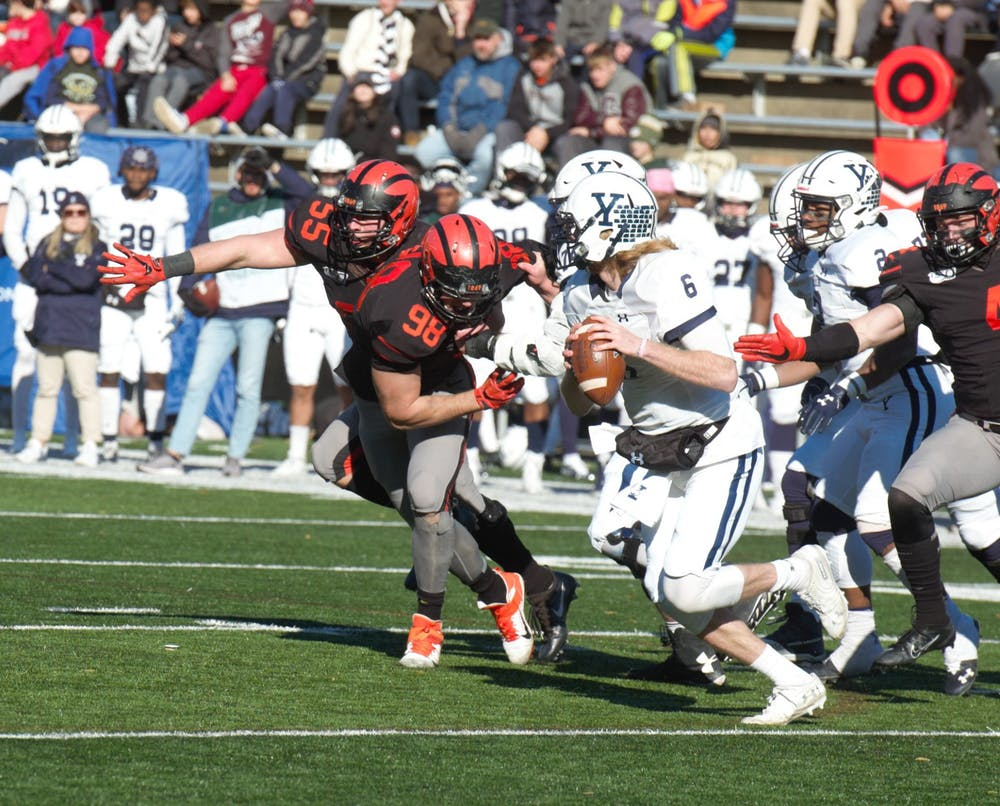 Princeton football crushed 51–14 by Yale - The Daily Princetonian