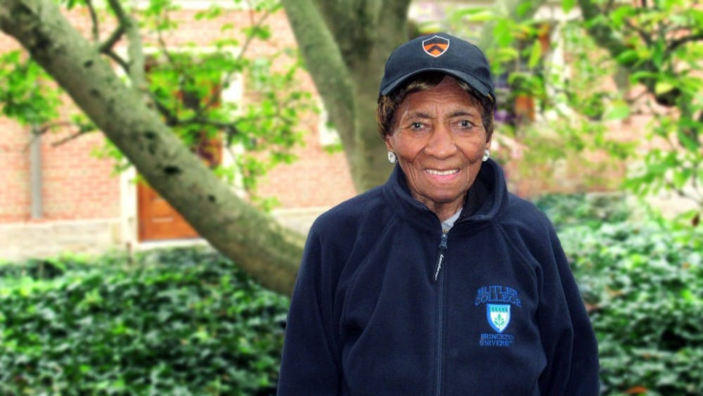 A food service worker in the Butler and Wilson dining halls and a 79-year-long poll worker, Laura Wooten died on March 24 at 98.  Photo Credit: Jamie Saxon / Office of Communications