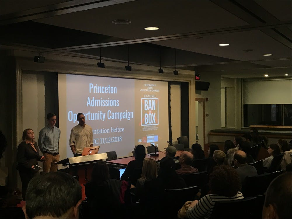 CPUC meeting discusses Ban the Box, Service Focus, innovation. Photo Credit: Marissa Michaels / The Daily Princetonian