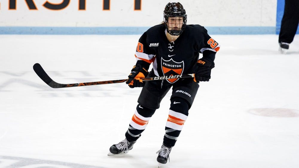 Carly Bullock scored a goal in Princeton's Friday win over Colgate.