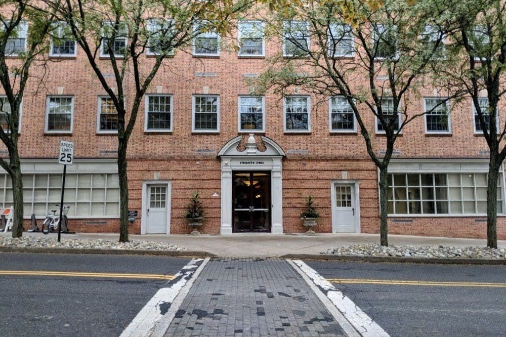 <h5>22 Chambers Street houses the Princeton University Investment Company (PRINCO).</h5> <h6>Ben Ball / The Daily Princetonian</h6>