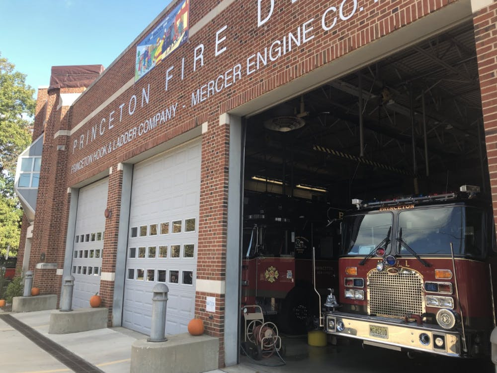 The Princeton Fire Department Photo Courtesy: Sruti Chitluri / The Daily Princetonian