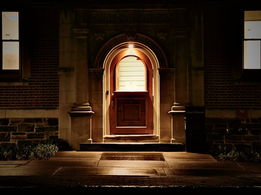 <h6>The entrance to 48 University Pl., which houses The Daily Princetonian's newsroom.</h6> <h6>Photo Credit: Jon Ort / The Daily Princetonian</h6>
