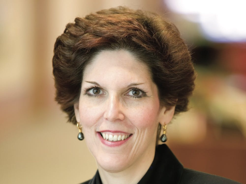 Loretta Mester GS '85 leads the Federal Reserve Bank of Cleveland. Press Photo from the Federal Reserve Bank of Cleveland