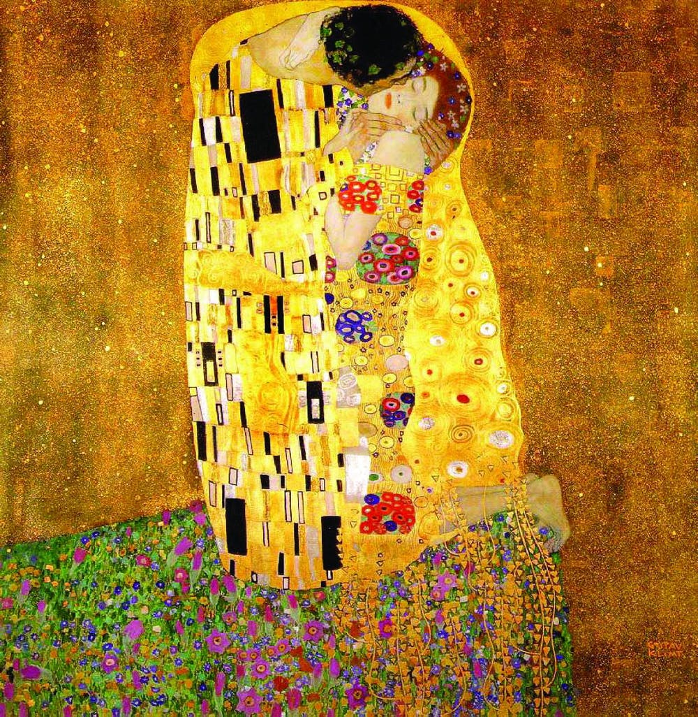the_kiss_gustav_klimt_courtesy_of_wikiart