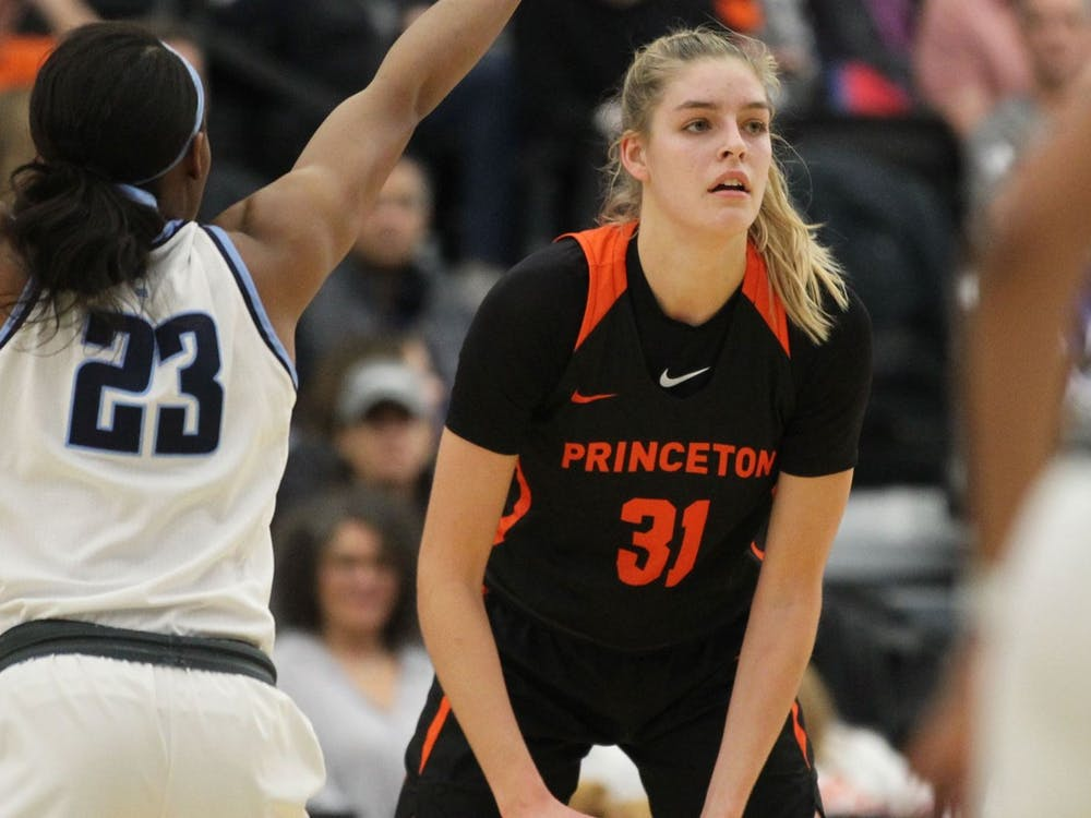 Senior Bella Alarie lead the team in scoring with an average of 17.5 points per game this season. Photo courtesy of Beverly Schaefer / Princeton Athletics