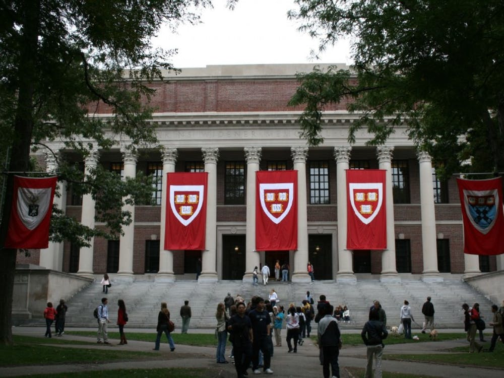 Harvard University's campus. Joseph Williams / Wikimedia Commons