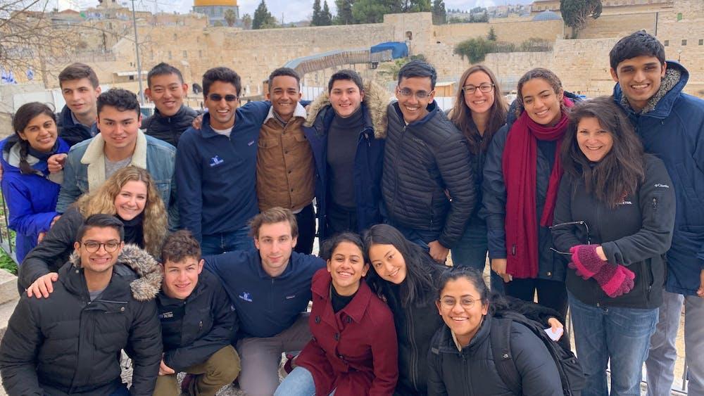Participants on Princeton's first international Tiger Trek. Photo courtesy of Ron Miasnik and Daniella Cohen.