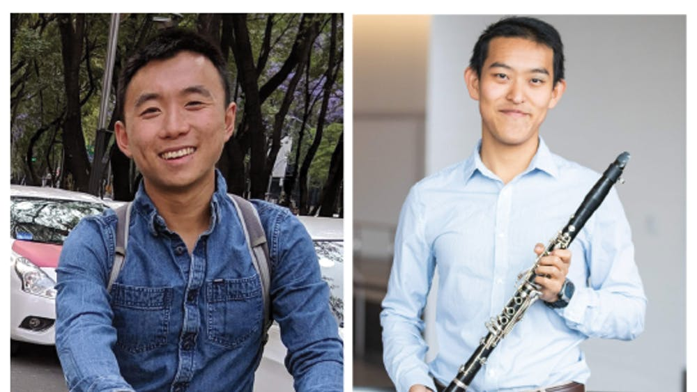 Adam Chang, left and Yang Song, right.  Photo courtesy of Adam Chang and Yang Song
