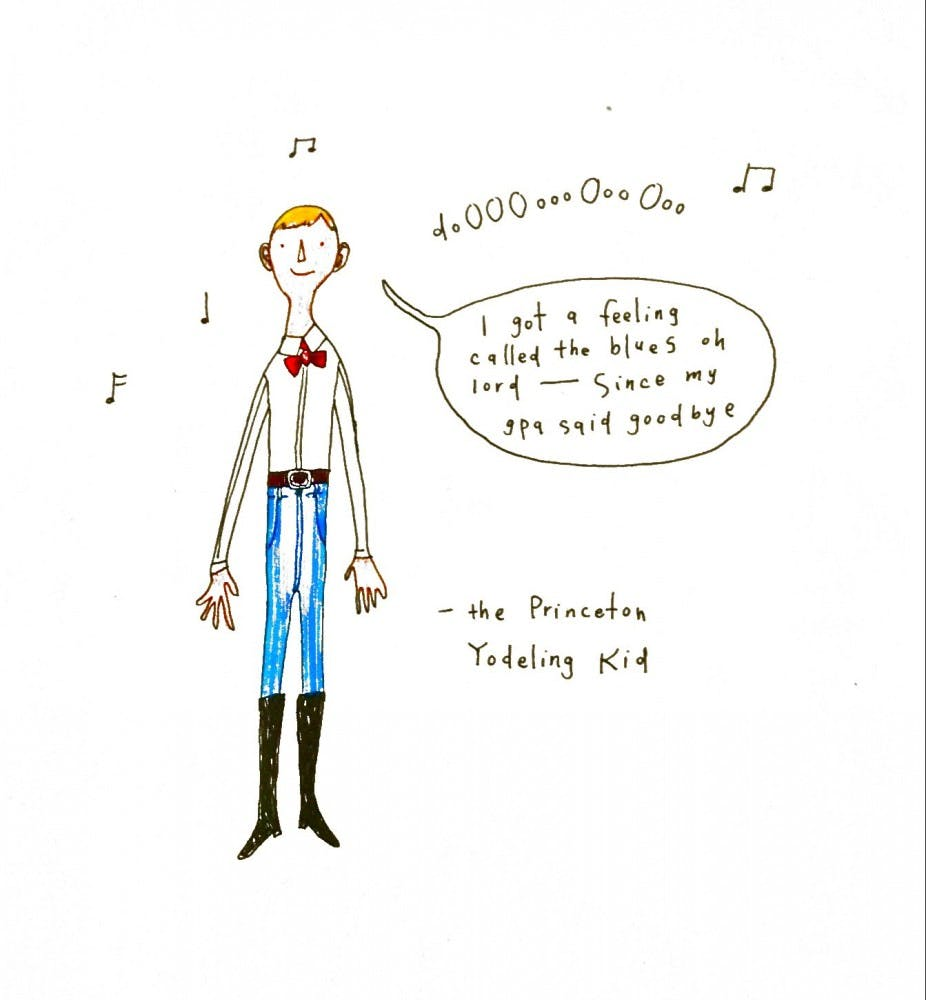 The Princeton Yodeling Boy