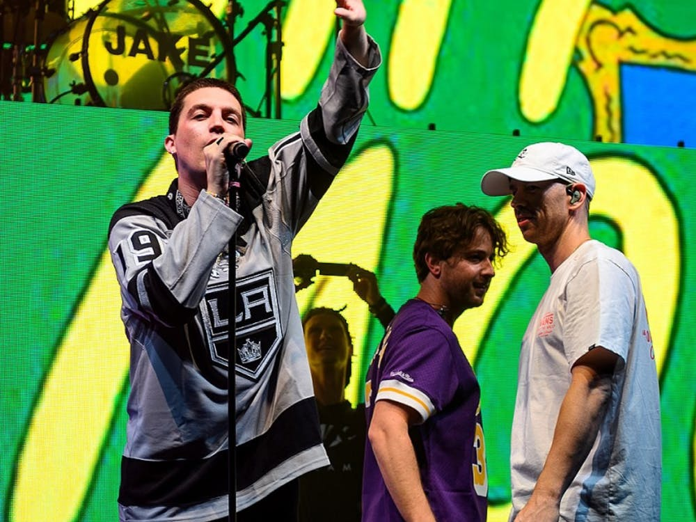 LANY performing live at the Shrine Expo Hall in Los Angeles, California, on Friday, June 28, 2019. Justin Higuchi / CC BY 2.0