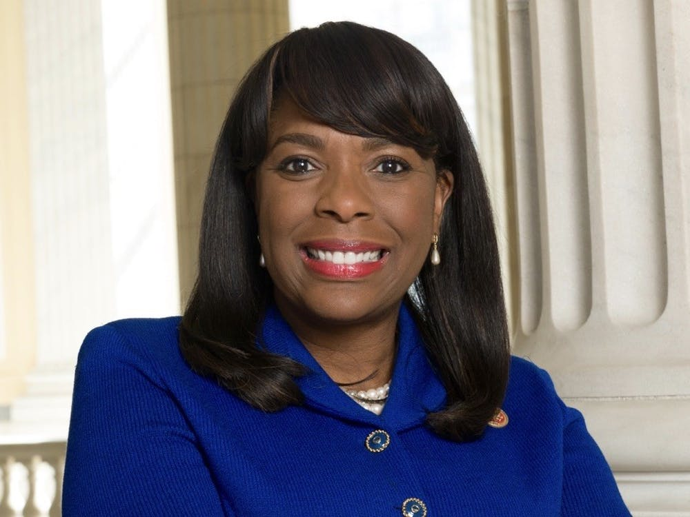 U.S. Rep. Terri Sewell '86 posed for a Congressional portrait. Terri Sewell Congressional website