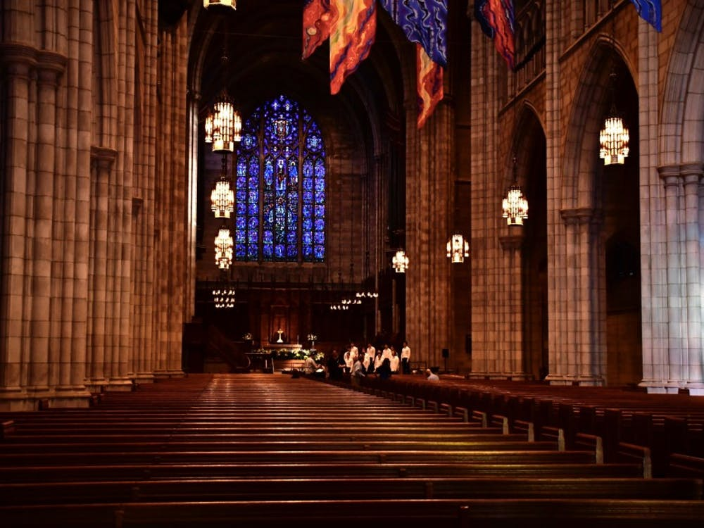 The interior of the Princeton University Chapel. Photo Credit: Jon Ort / The Daily Princetonian