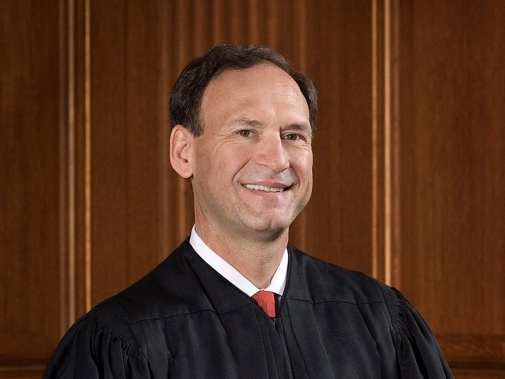Supreme Court Justice Samuel Alito '76 posed for an official portrait in 2007. Courtesy of Supreme Court of the United States website