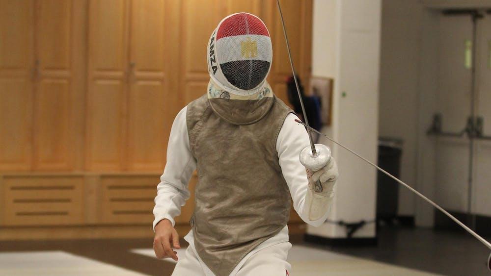 """<h6>Beverly Schaefer via <a href=""""https://goprincetontigers.com/sports/mens-fencing/roster/mohamed-hamza/19006"""" target=""""_self"""">GoPrincetonTigers.com</a></h6>"""